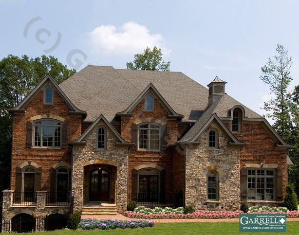1000 images about brick house on pinterest brick and for Mixing brick and stone