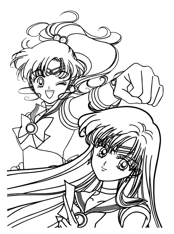 1000+ images about Anime colouring pages on Pinterest ...