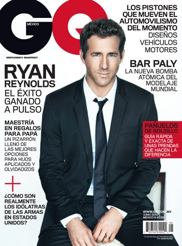 Ryan Reynolds en GQ México