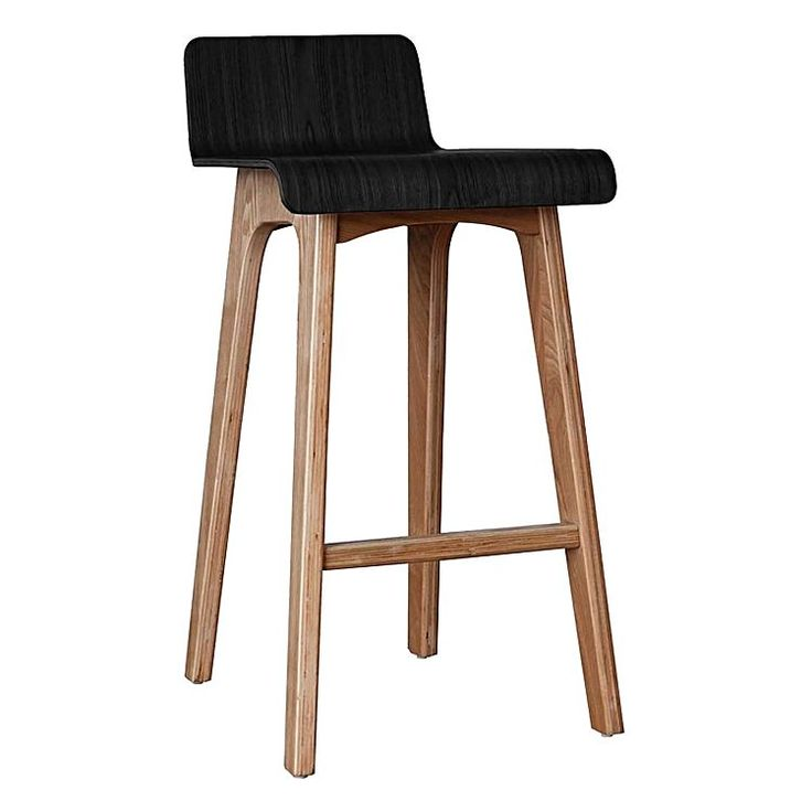Make your counter welcoming with the casual and practical seating of the sheike Marina Bar Stool, Black from Life Interiors.