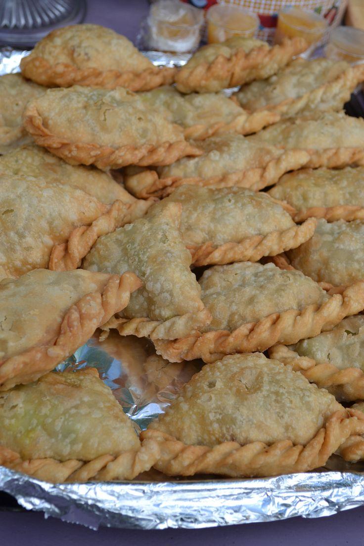 Veggie Samosas at Myrtle Bakes.  #myrtlebakes