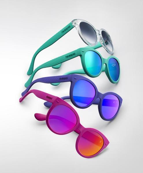 Meu povo, olha só a novidade das havaianas, ela acaba de lançar sua coleção de óculos escuro, em parceria com grupo italiano de óculos Safilo.