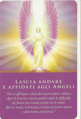 lascia andare e affidati agli angeli