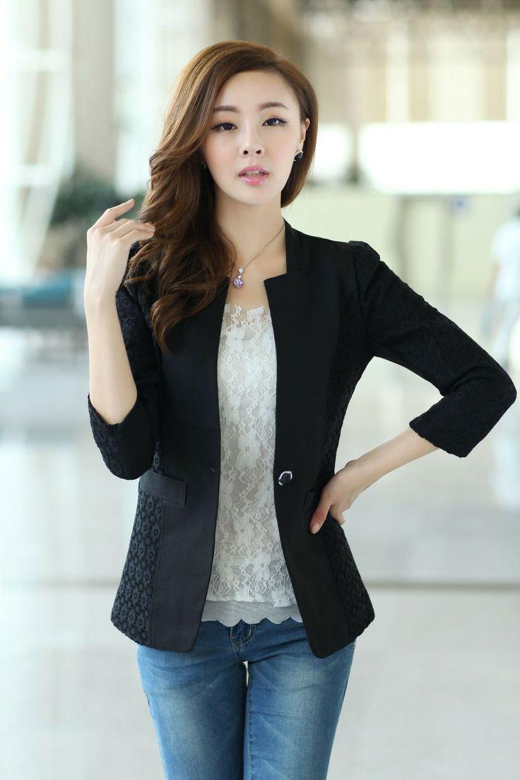 Blazer otoño desgaste diseño coreanoEscudo Para jakets en el hombro  Precio: $97.600  Tallas: M, L, XL