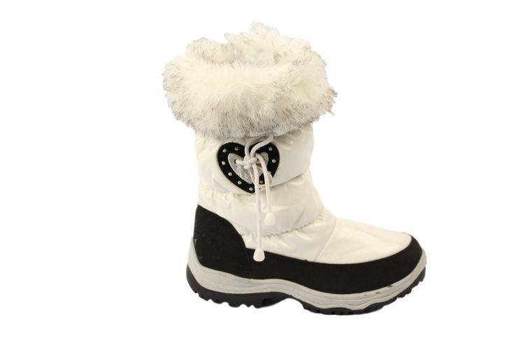 Dámské sněhule Heart bílé