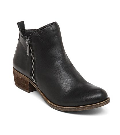 "Lucky Brand® ""Basel"" Double Zip Ankle Boots 