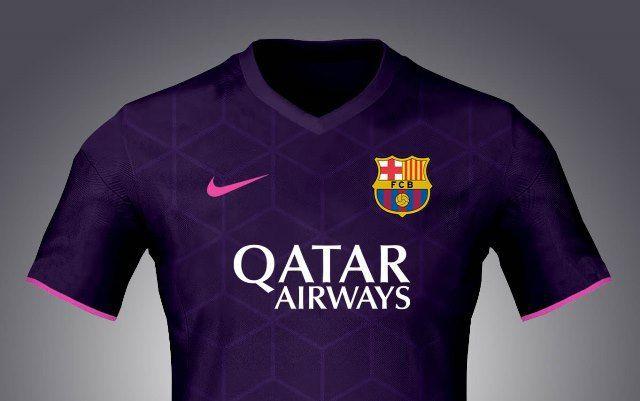 Nuevas imágenes de la presunta camiseta suplente del FC Barcelona 2016-17