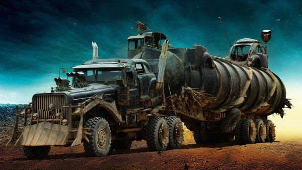 A converted Tatra 815 truck from the 2015 film Mad Max: Fury Road