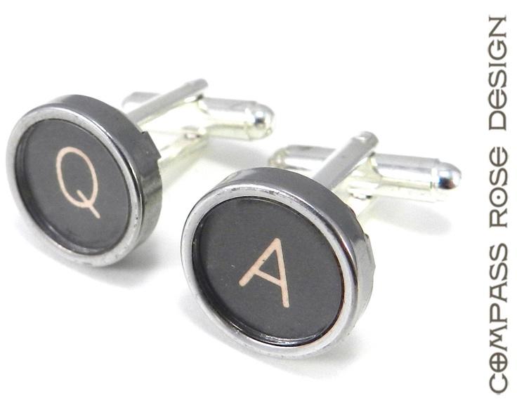 Typewriter Key Cufflinks