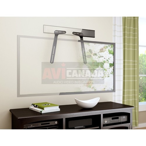 With This Sound Bar Bracket You Can Mount A Sound Bar Above Or Below The Tv Can Be Attached To