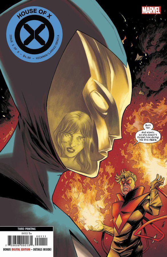 House Of X 2 Variant Cover Destiny By Declan Shalvey Marvel Marvel Comics Art Comics