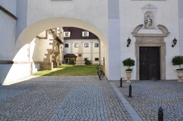 Nové Hrady, klášter