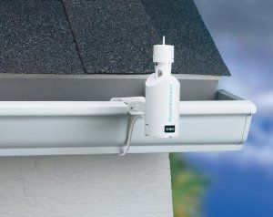 Toro 53769 Sprinkler System Wired Rain Sensor by Toro. $14.65. Wired rain sensor saves water and money by automatically interrupting irrigation systems when it rains. Rain sensitivity can be adjusted from 1/8 to 1 inch. Installs easily by using Quick Clip gutter bracket. Includes 25 feet of UL rated connection wire. Compatible with any sprinkler timer. Amazon.com                The Toro wired rain sensor saves water and money by automatically interrupting your i...