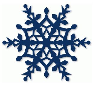 crystal snowflake by snapdragon snippets #54201