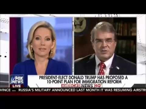 Will defund sanctuary cities on Jan 20 2017 Rep. John Culberson joins Fox News America's News HQ