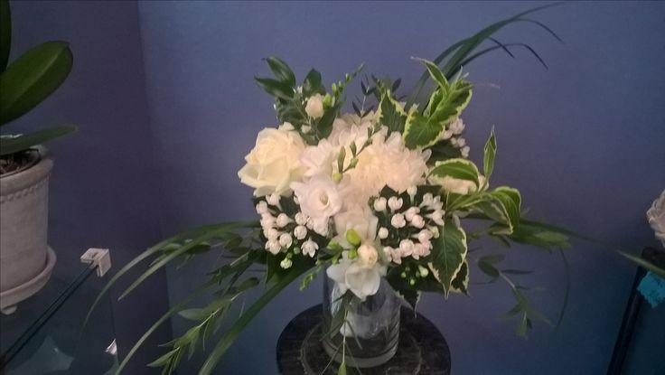 Bridal bouquet for wild child of nature @KukkaKaroliina