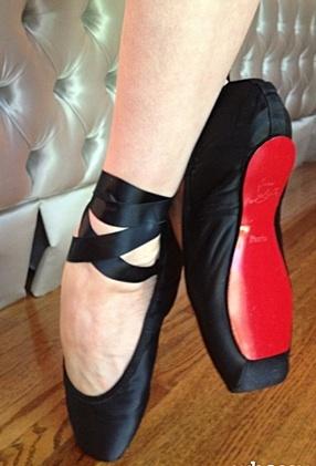 Louboutin pointe shoes!