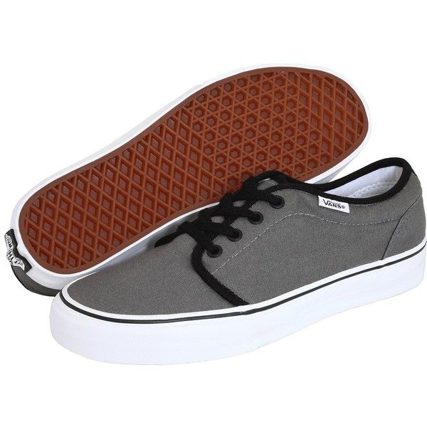Vans 106 Vulcanized Core Classics Skate Shoes ($55) ❤ liked on Polyvore featuring shoes, sneakers, vans, vans trainers, skate shoes, cushioned shoes, waffle shoes and lightweight shoes