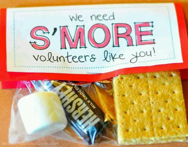 Volunteer appreciation gift. #VolunteerAppreciationWeek