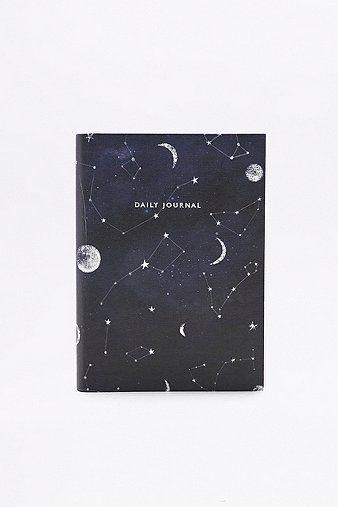 Constellation Print Daily Journal