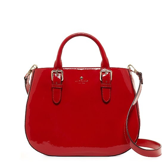 Cherry Red Ladylike Bag By Kate Spade