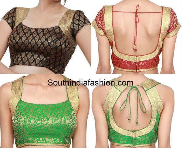 brocade saree blouse designs, Brocade Blouse Designs, brocade blouses, brocade blouse patterns, brocade blouse online, brocade blouse neck designs