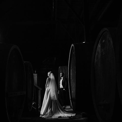 B+W in the Old Winery | photography by Cam Grove