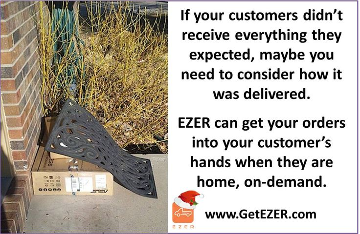 Are your customers not receiving everything they expected?   #GetEZER #OnDemand #LocalDelivery #HomeDelivery #B2C #B2B #HolidayDelivery #HolidayDeliveries #Christmas #PorchPirates #StolenDeliveries #xmas #xmasgifts #LastMile #Business #SmallBusiness #Distribution #Procurement #eCommerce #Logistics #Fulfillment #warehouse #shipping #SoCal #SouthernCalifornia #InlandEmpire #IE #MIN #MN #StPaul #EZER