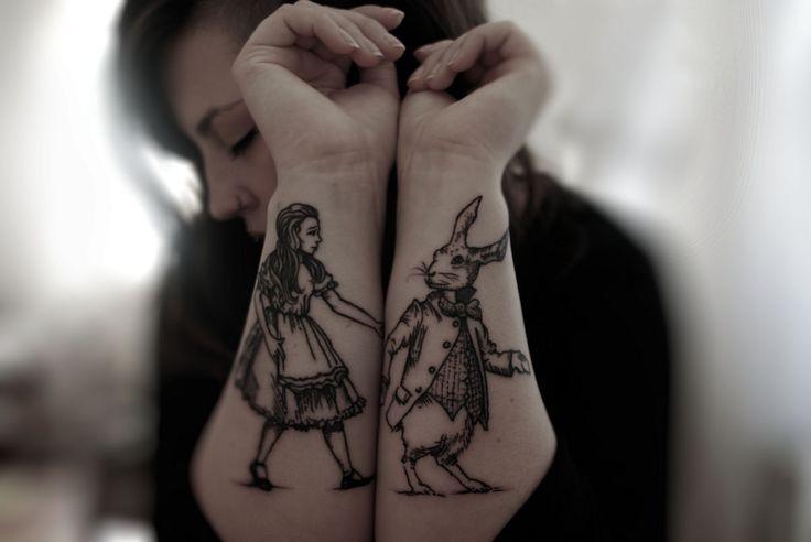 Alice in Wonderland #ink #tattoo