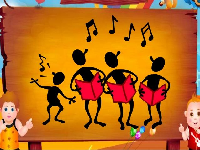 • These are some of the ways attempted to present the video efficiently to the children. • Whatever the type of song may b...