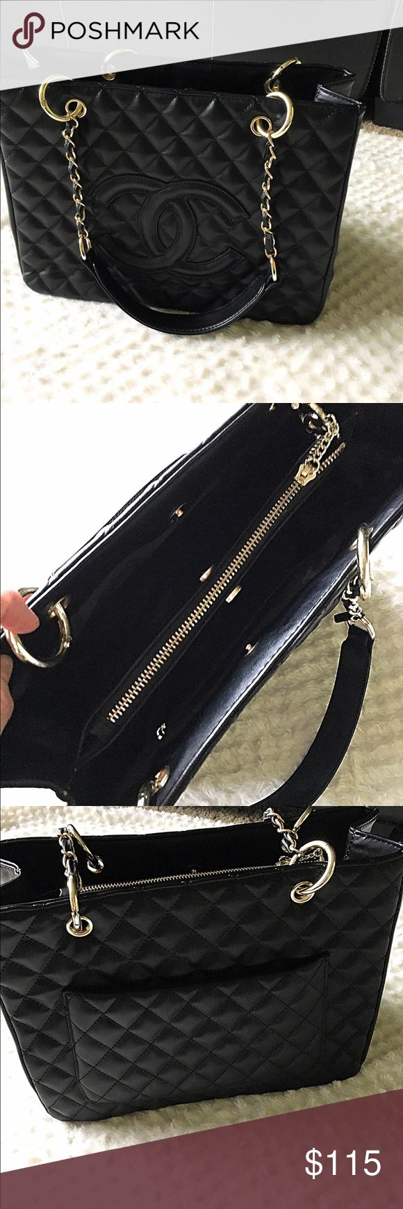 New!! Black purse 👛💋 New!!  Clean unused purse excellent condition faux leather A/X Armani Exchange Bags Hobos