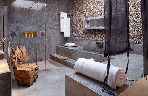 Betonlook badkamer   Interieur inrichting