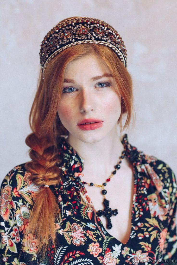"""kokoshnik """"princess nesmeyana"""""""