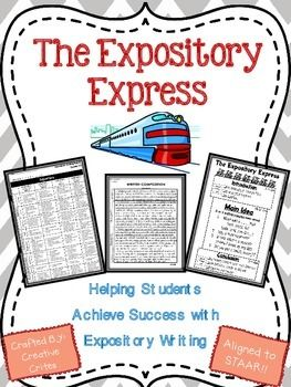 The Expository Express:  Empowering Writers with Expositor