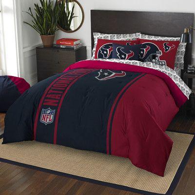 Northwest Co. NFL Texans Comforter Set Size: