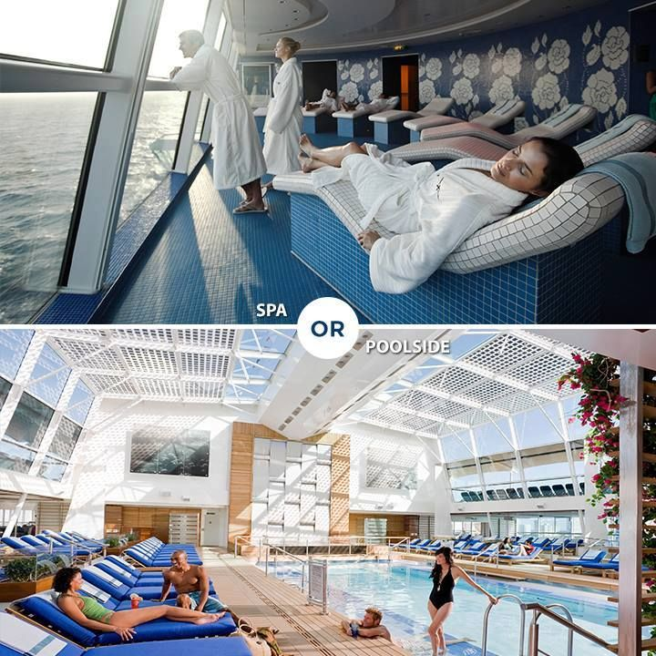 On-board spa or poolside?