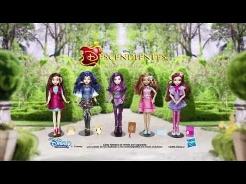 "Disney Latino América Comercial de TV ""Muñecas Descendientes"" - YouTube"
