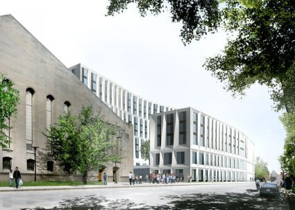 Studio Gang Architects | University of Chicago Campus North Residence Hall