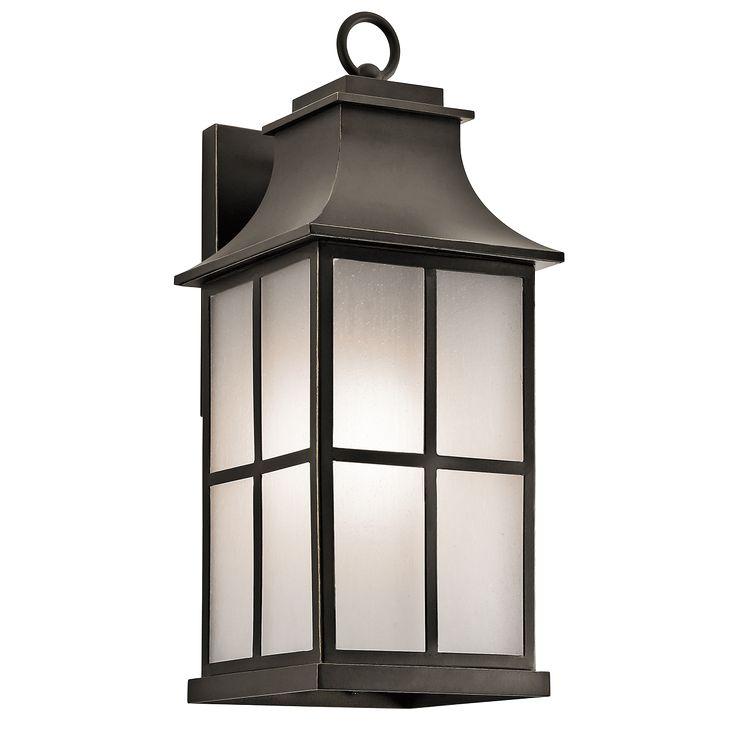 Pallerton Way 1 Light Large Outdoor Lantern - OZ OZ