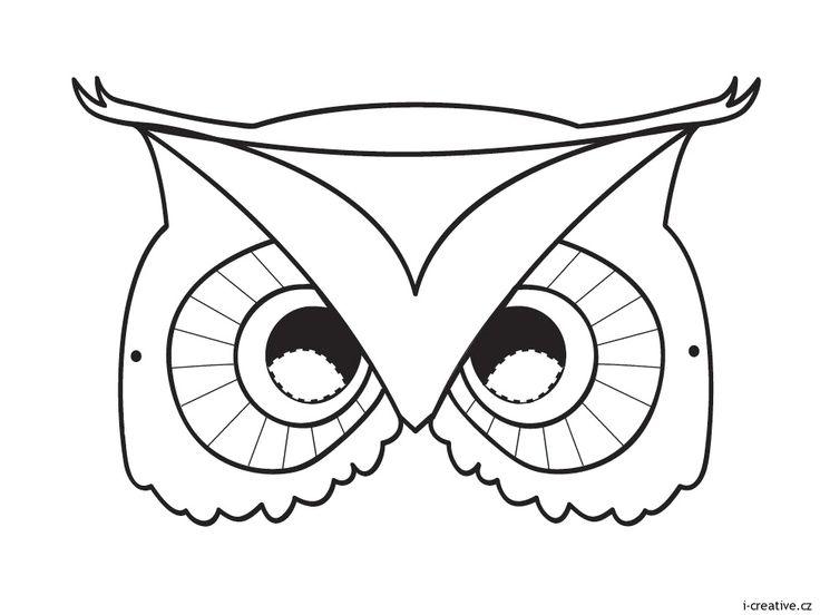 Karnevalové masky - šablony k vytisknutí | i-creative.cz - Inspirace, návody a nápady pro rodiče, učitele a pro všechny, kteří rádi tvoří.