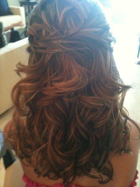 close up of hair and makeup Wedding Hair Photos on ...
