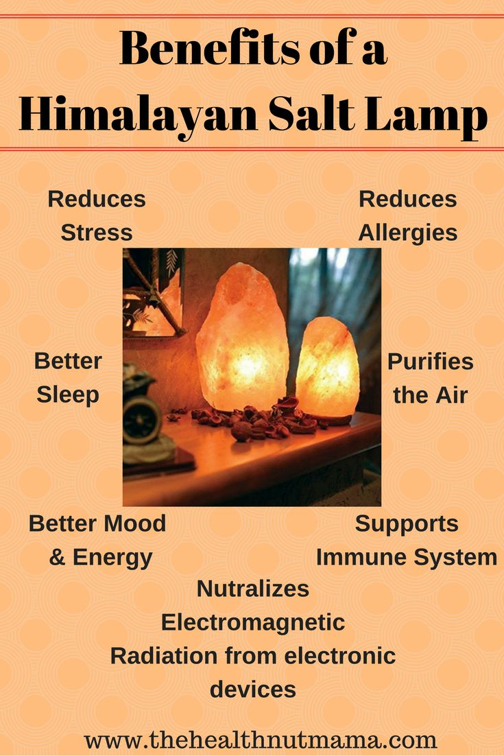 9 Amazing Benefits of Himalayan Salt Lamps! I love them so much I have them in every room. Even the powder room! www.thehealthnutmama.com