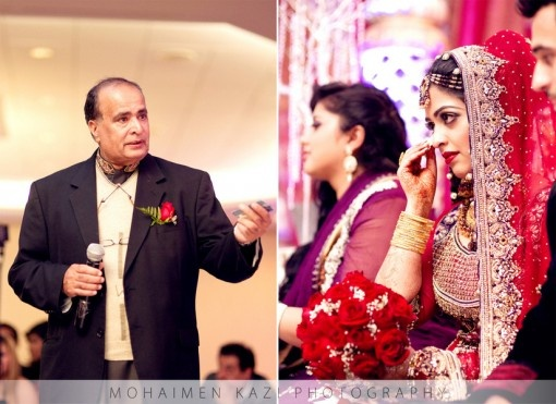 Pakistani Bride Shedding A Tear While Listening To Fathers Speech Find This Pin And More On Sweet Indian Wedding Moments
