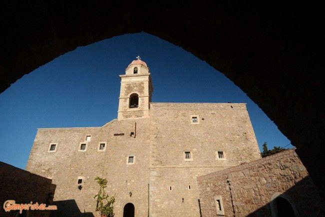 Crete: Moni Toplou, a monastery to be tasted   Camperistas.com