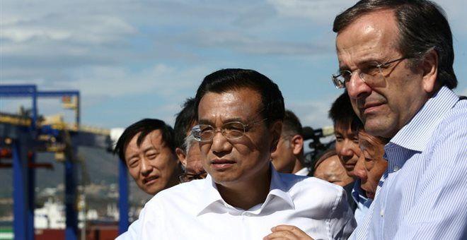 Στην Κίνα με πρόσκληση του Πεκίνου ο Σαμαράς - Συνάντηση με Λι Κετσιάνγκ