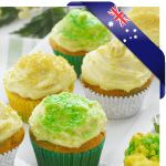 Green and Gold Marble Cupcakes » Recipes » Cadbury Kitchen