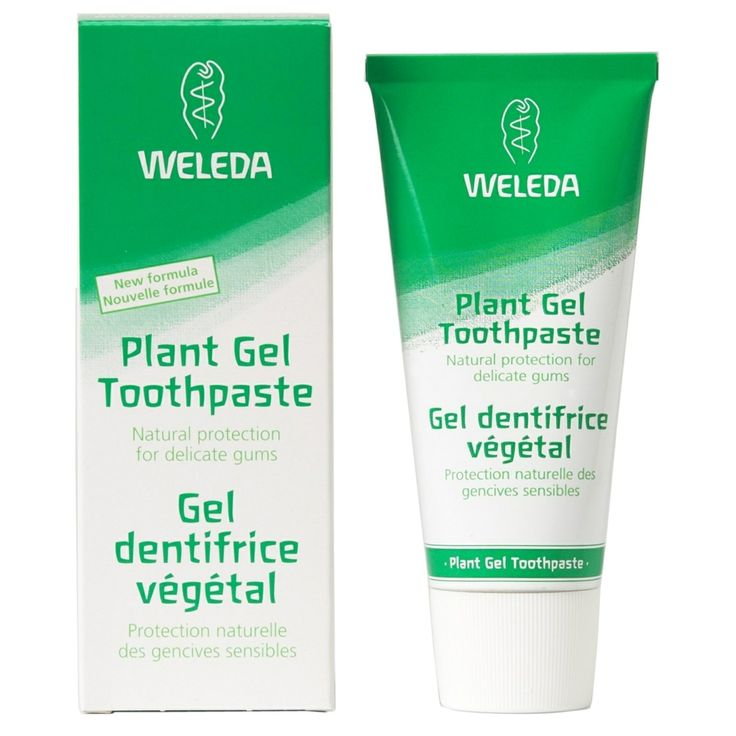 Gel de dinti bio cu ierburi ptr. gingii sensibile, fara fluor, 75ml, Weleda - Sabedoria