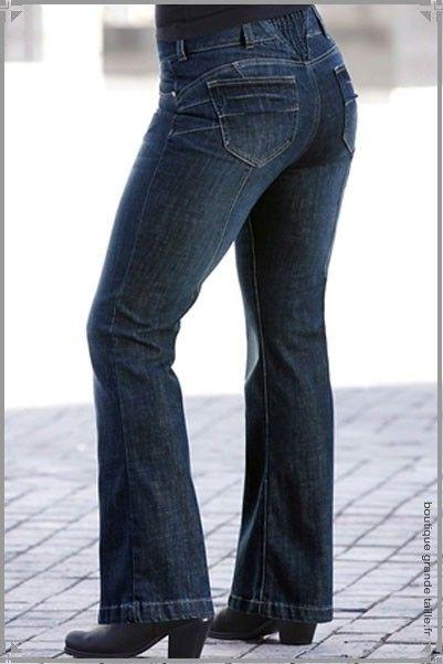 21 best jeans grande taille femme ronde mode images on pinterest plus size jeans curvy girl. Black Bedroom Furniture Sets. Home Design Ideas
