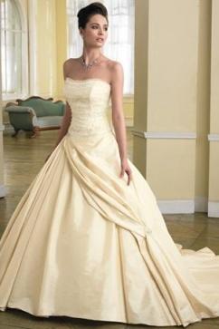 Beauty And The Beast Wedding Dress Love Royal Sash On Skirt
