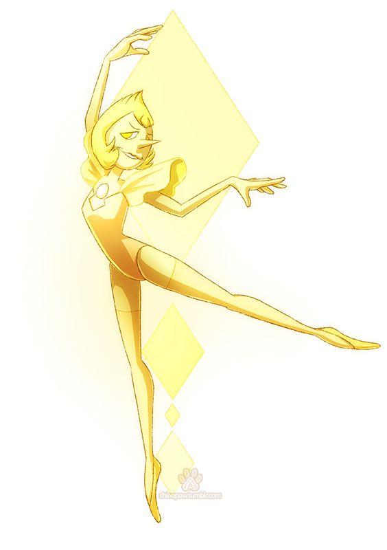 Yellow Pearl - Steven Universe by ShinePawArt on DeviantArt
